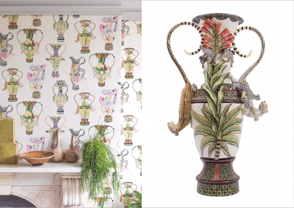 Khulu Vases, £100 per roll