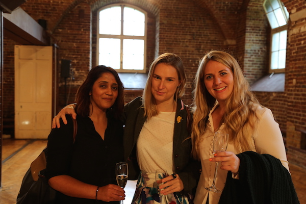 Dipika, Rosa and Courtney from Alchemi Group