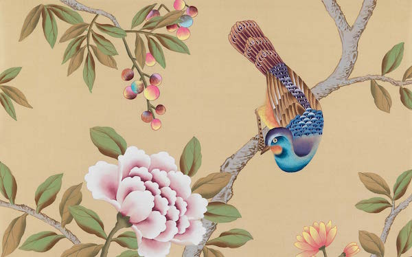 Floribunda chinoiserie in Kilburn, Fromental –price available on request