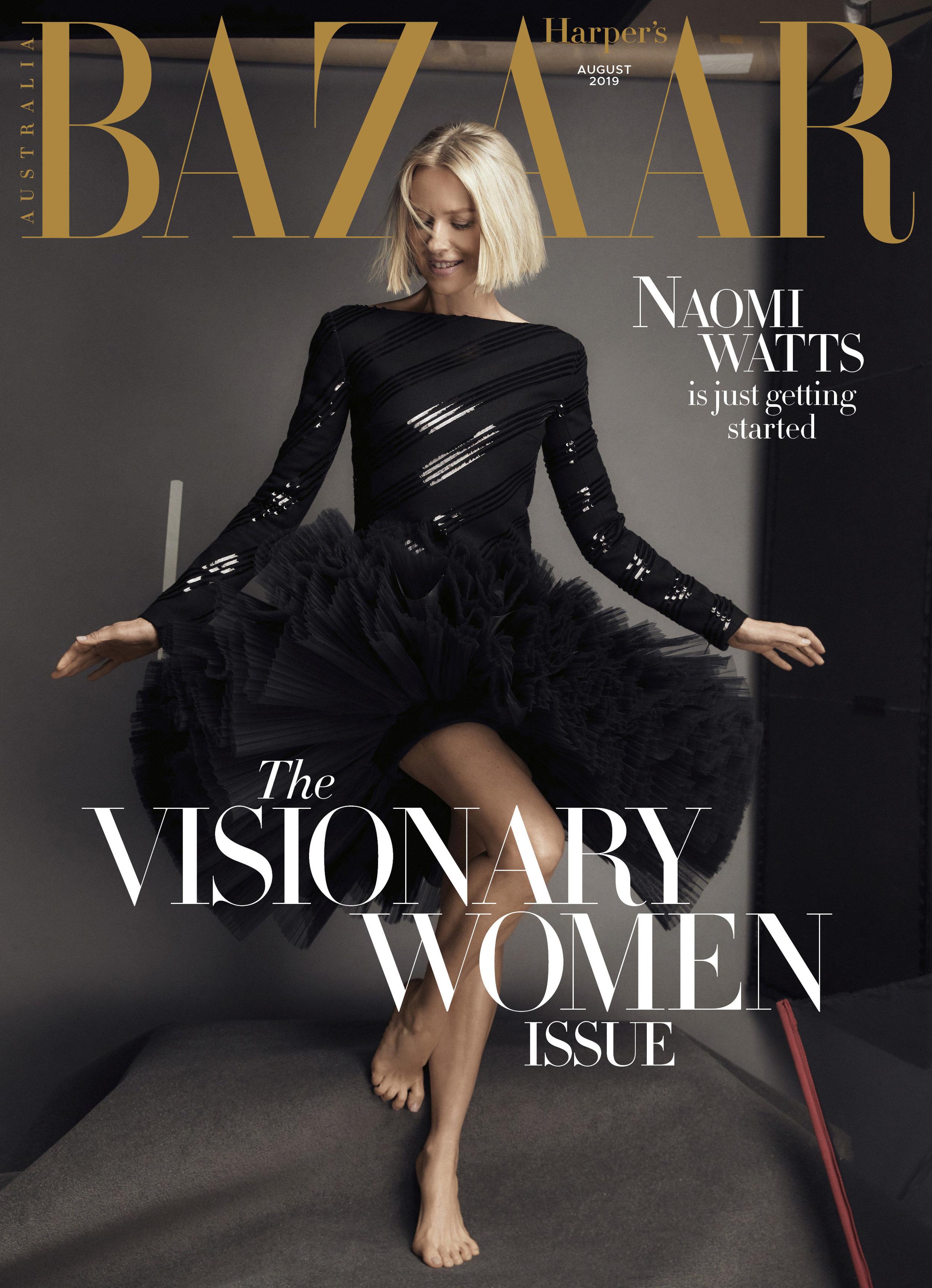 Prop Stylist | Australia Harper's Bazaar featuring Naomi Watts