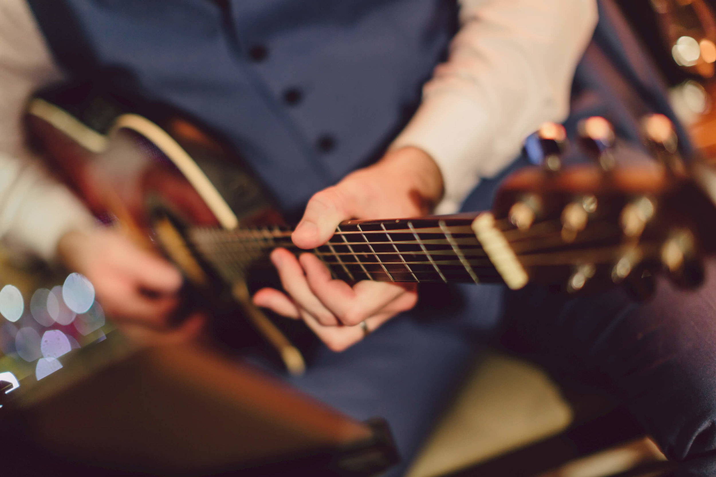 Acoustic guitar!