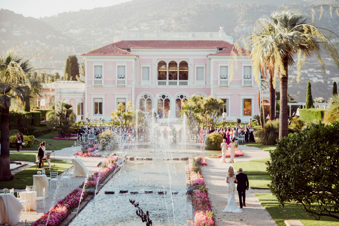 Lizzy and The Gentlemen Piano Duo @ Villa Ephrussi de Rothschild