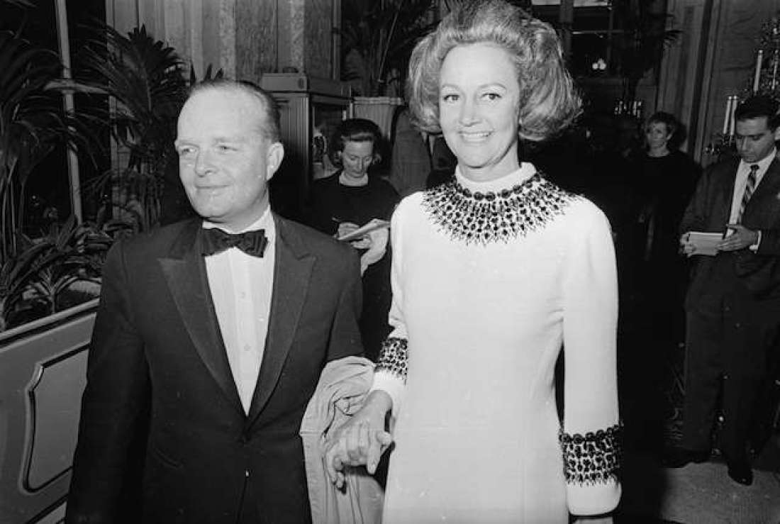 "In 1966, Truman Capote hosted this incredible soiree. As you can imagine, it attracted a ton of celebrities. Frank Sinatra, Mia Farrow, Lauren Bacall, Henry Fonda, and Candice Bergen attended alongside socialites like Gloria Vanderbilt and Lee Radziwill. In fact, the guest list was so glamorous that Andy Warhol quipped to his date, ""We're the only nobodies here."" The bash was ostensibly held in honor of newspaper publisher Katharine Graham. Guests could only wear their fanciest black and/or white evening wear. Masks were also required, and ladies were expected to carry fans."