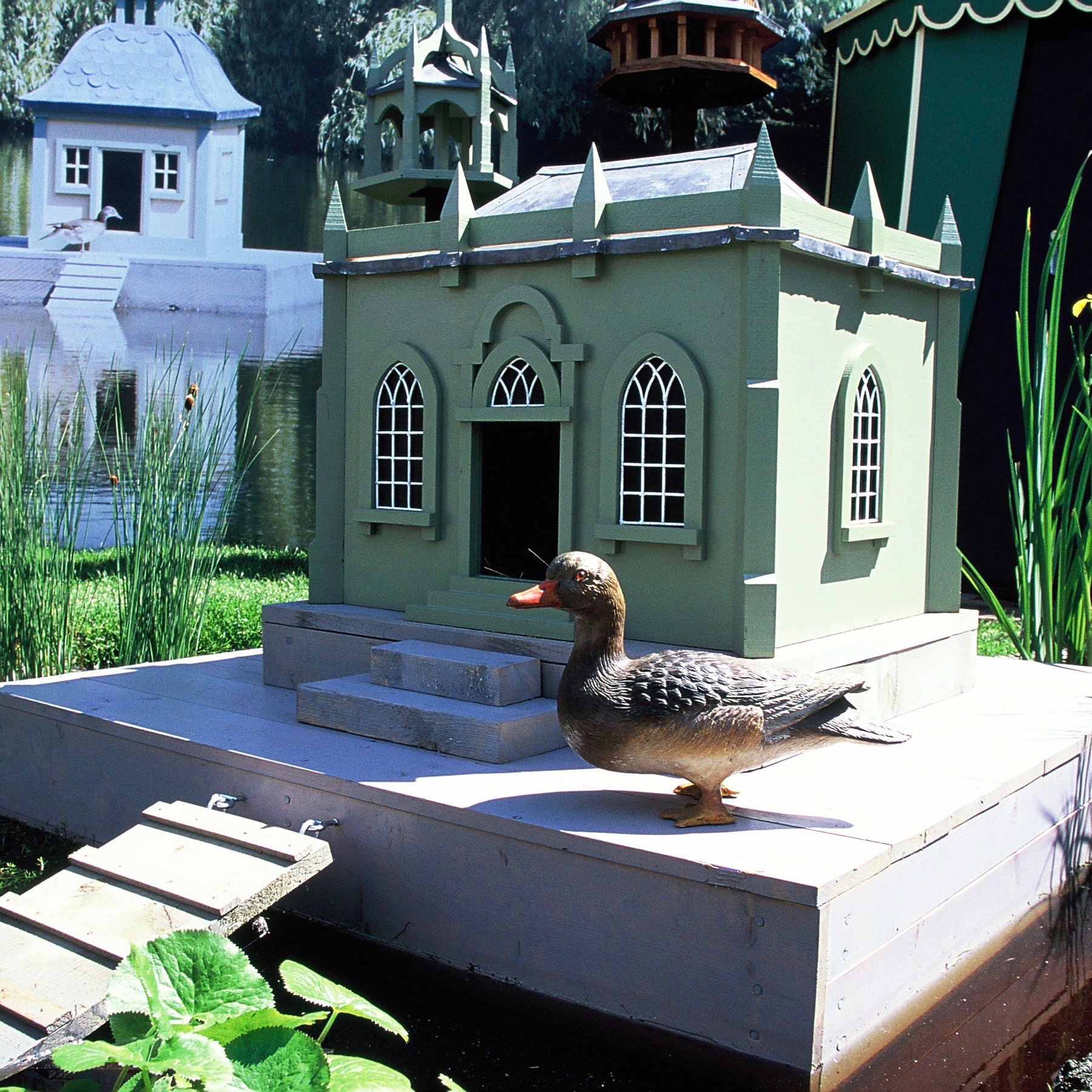 Heytesbury. Bespoke duck house.