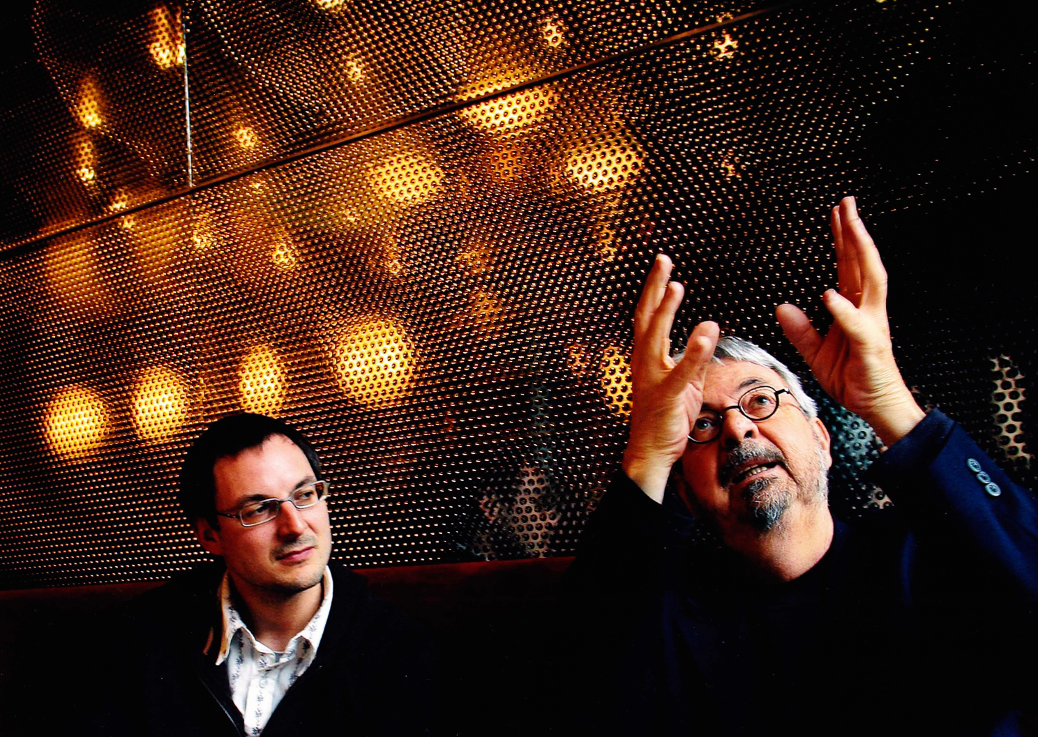 With Michel Tremblay