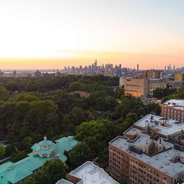 View from (expected) rooftop elevation over new development! #goldenhour #dronephotography #dronestagram #commercialrealestate #nyc