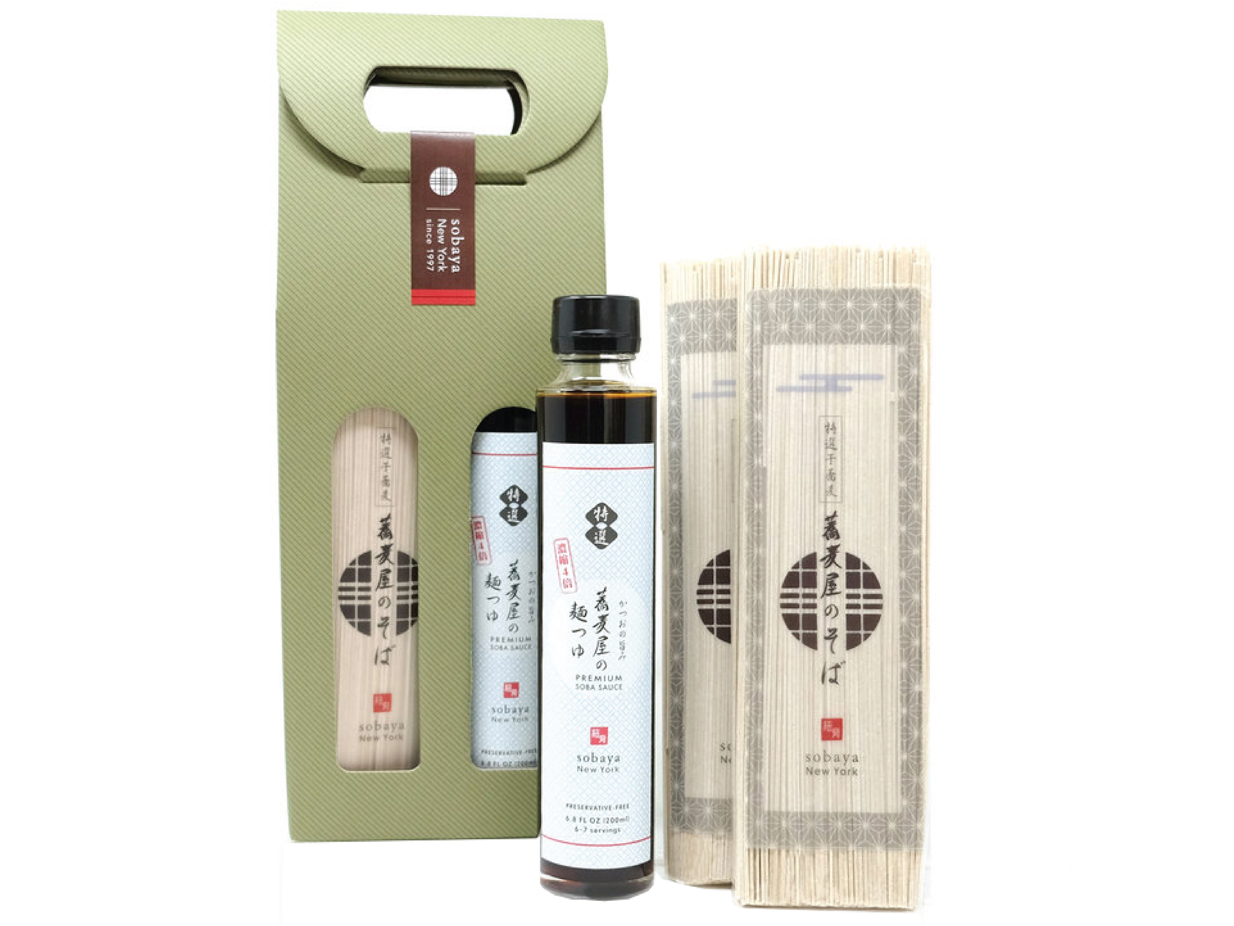 Sobaya - Artisanal Soba Now Available for You to Take Home