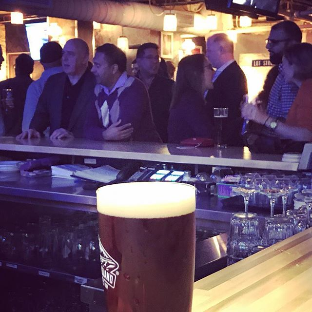 Our first pint at our newest venue, the @firkinonking - thank you to the team!