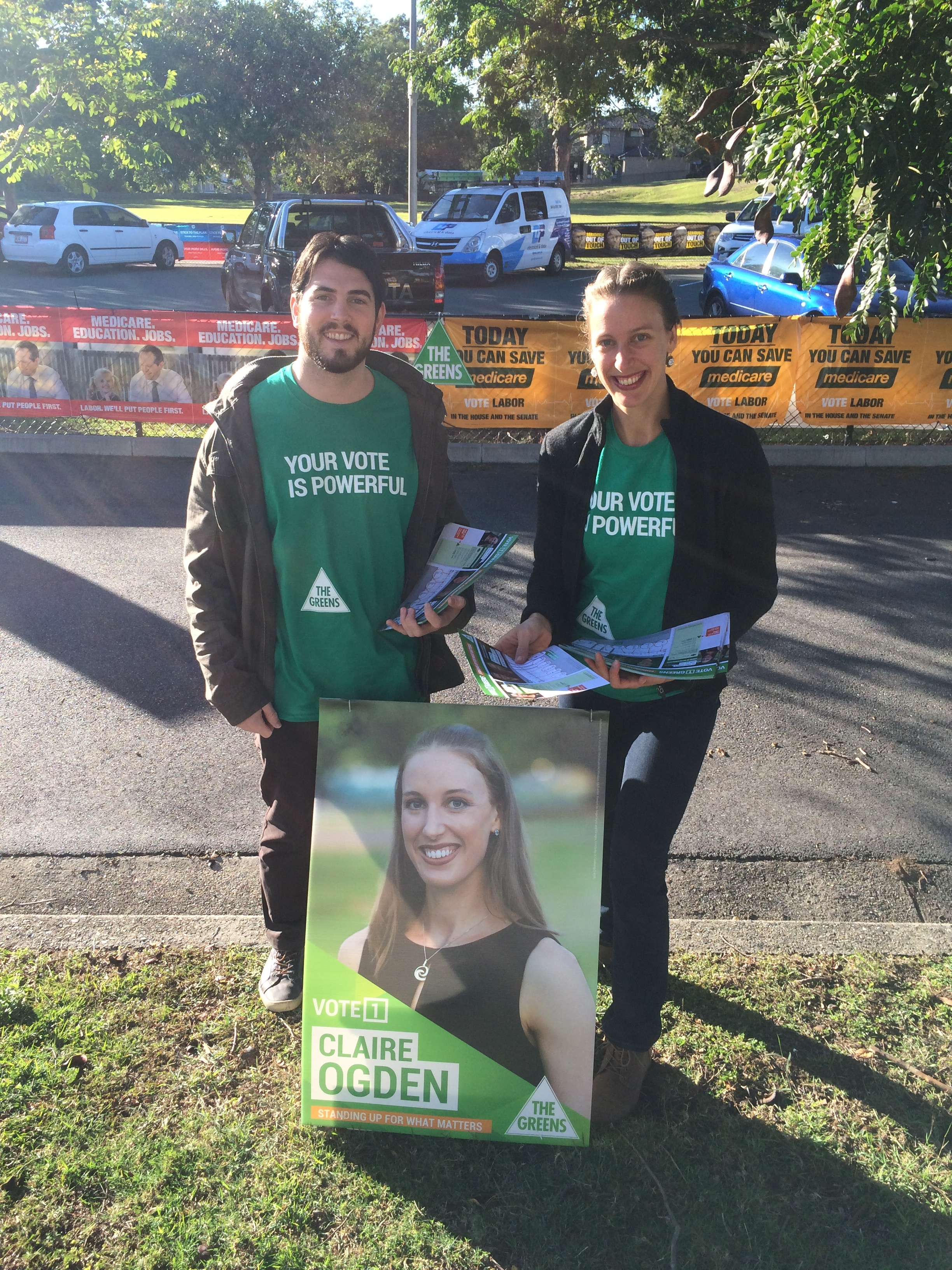 Claire Ogden ran for the federal seat of Lilley in the election last year