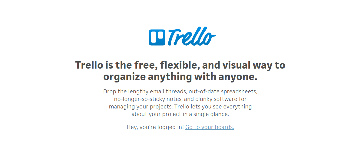 Trello - an example of highly effective copywriting - 5 benefits of using a copywriter