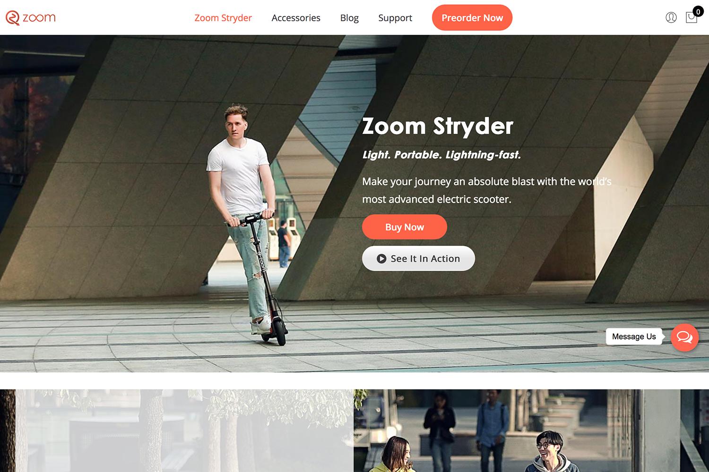 Zoom Stryder
