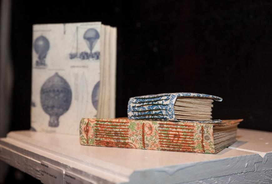 Handmade books by CIT Anna P.