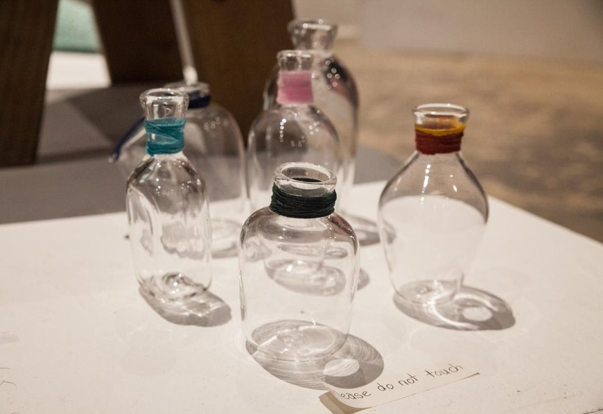 Glass bottles by CIT Andrew W.