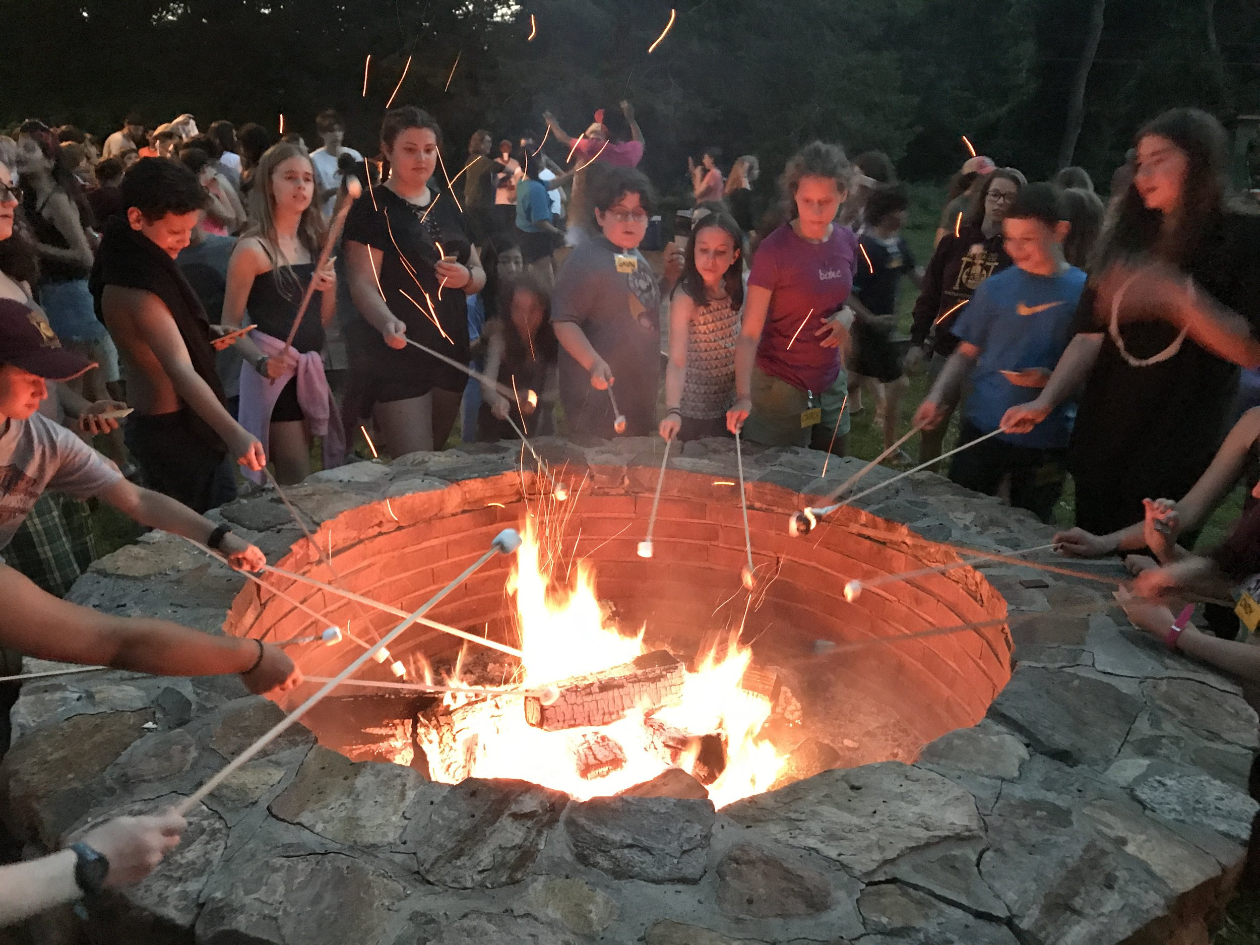 Fire Circle and S'mores!