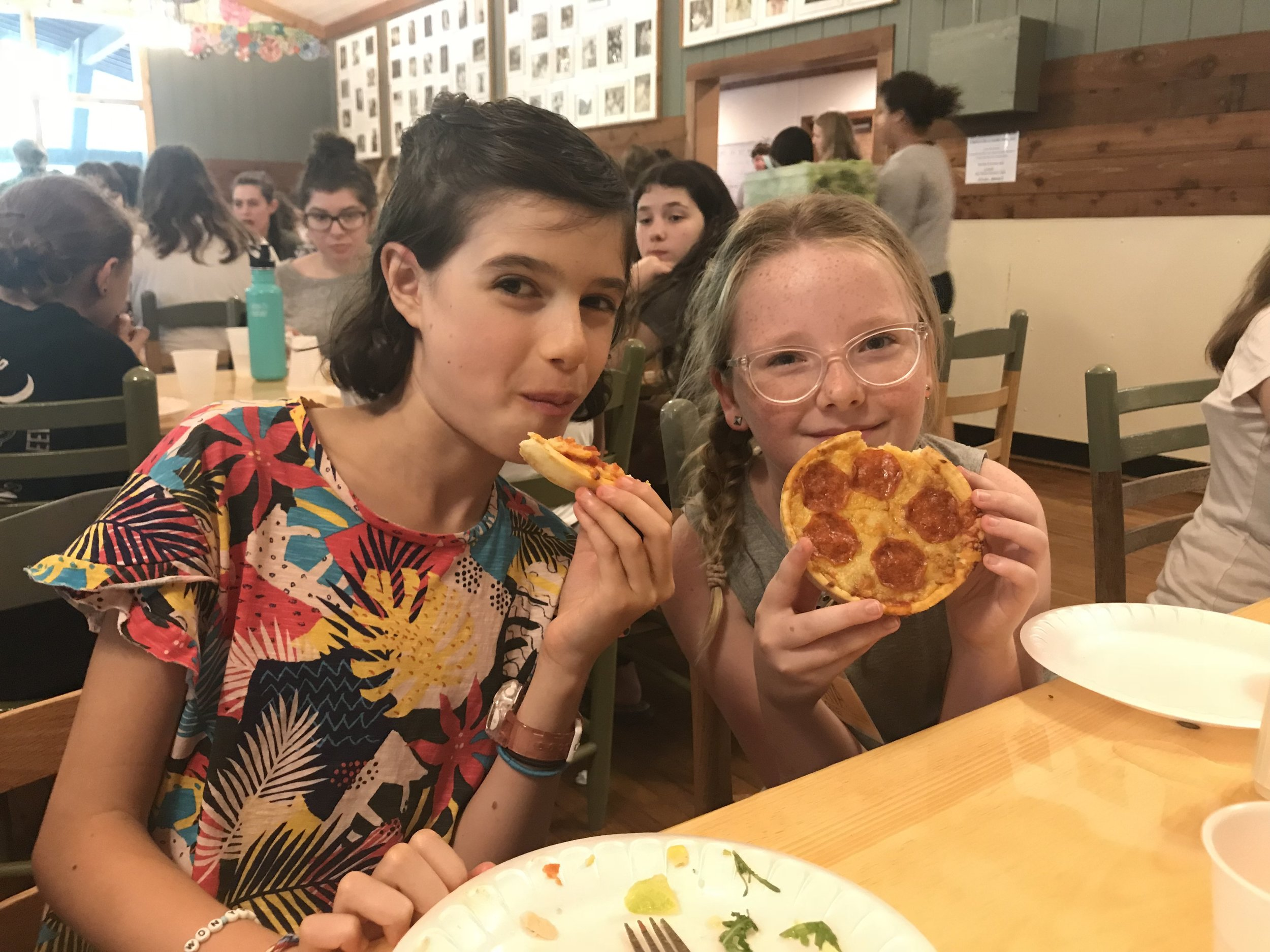Everyone loves pizza day!