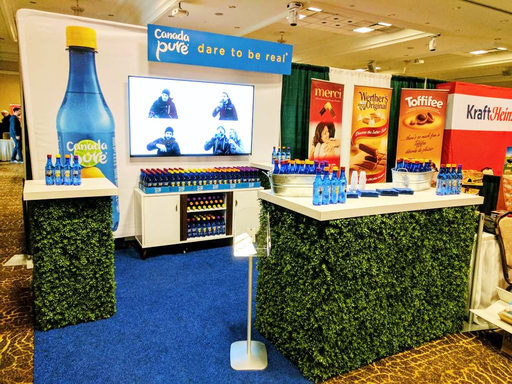 CANADA PURE - 2 tradeshows, 1 pop-up shop, 1 summer festival and 1,000s of samples