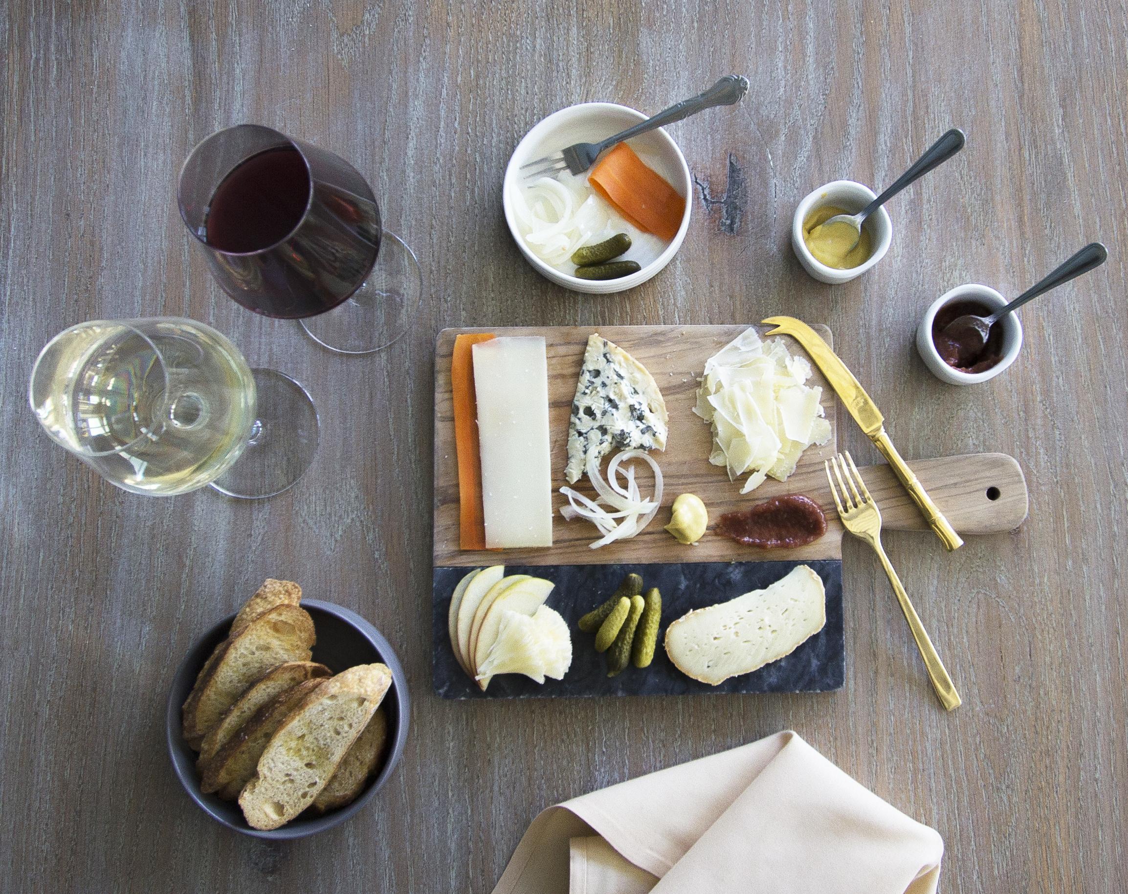 WINE + CHEESE -