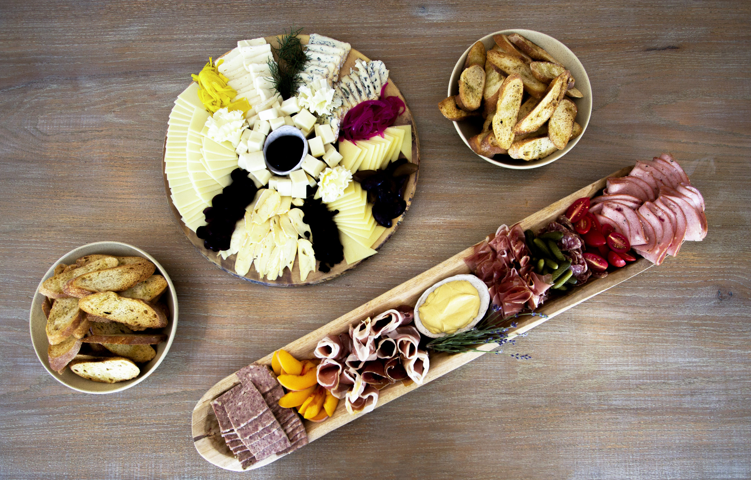 SPECIAL ORDERS - Order some pastries and bagels, or a cheese + charcuterie platter for your special event! Check out all of our catering options below and send us a message to place your order.