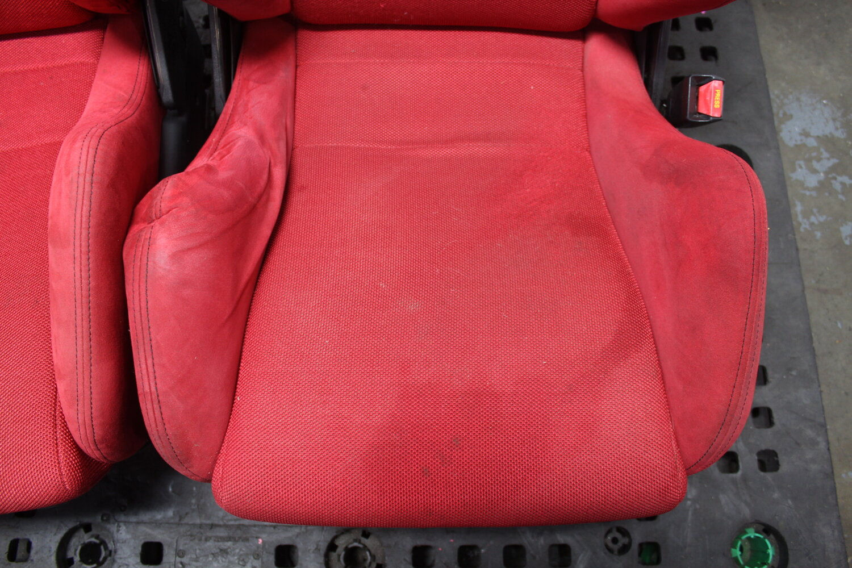 Fjdm Honda Integra Acura Dc5 Type R Red Recaro Seats With Rails Jdm Engines Direct