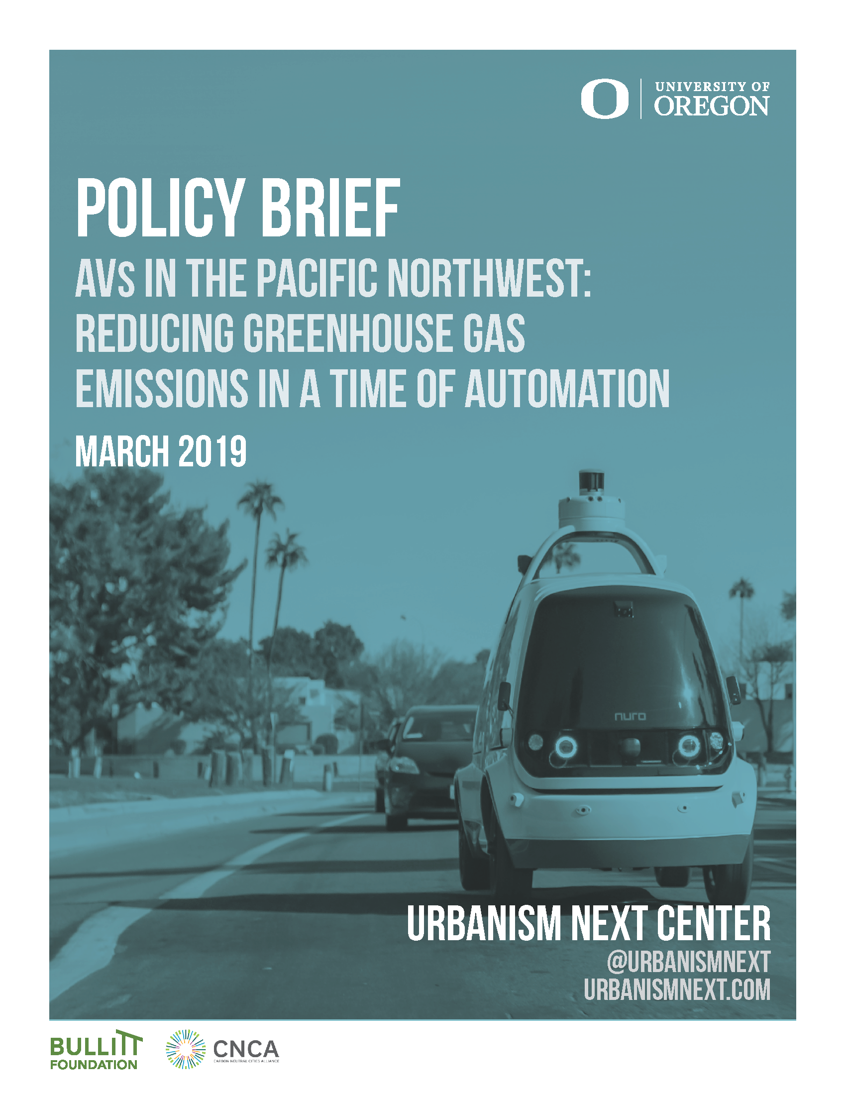 AVs in the PNW Policy Brief_March 2019_Cover.png