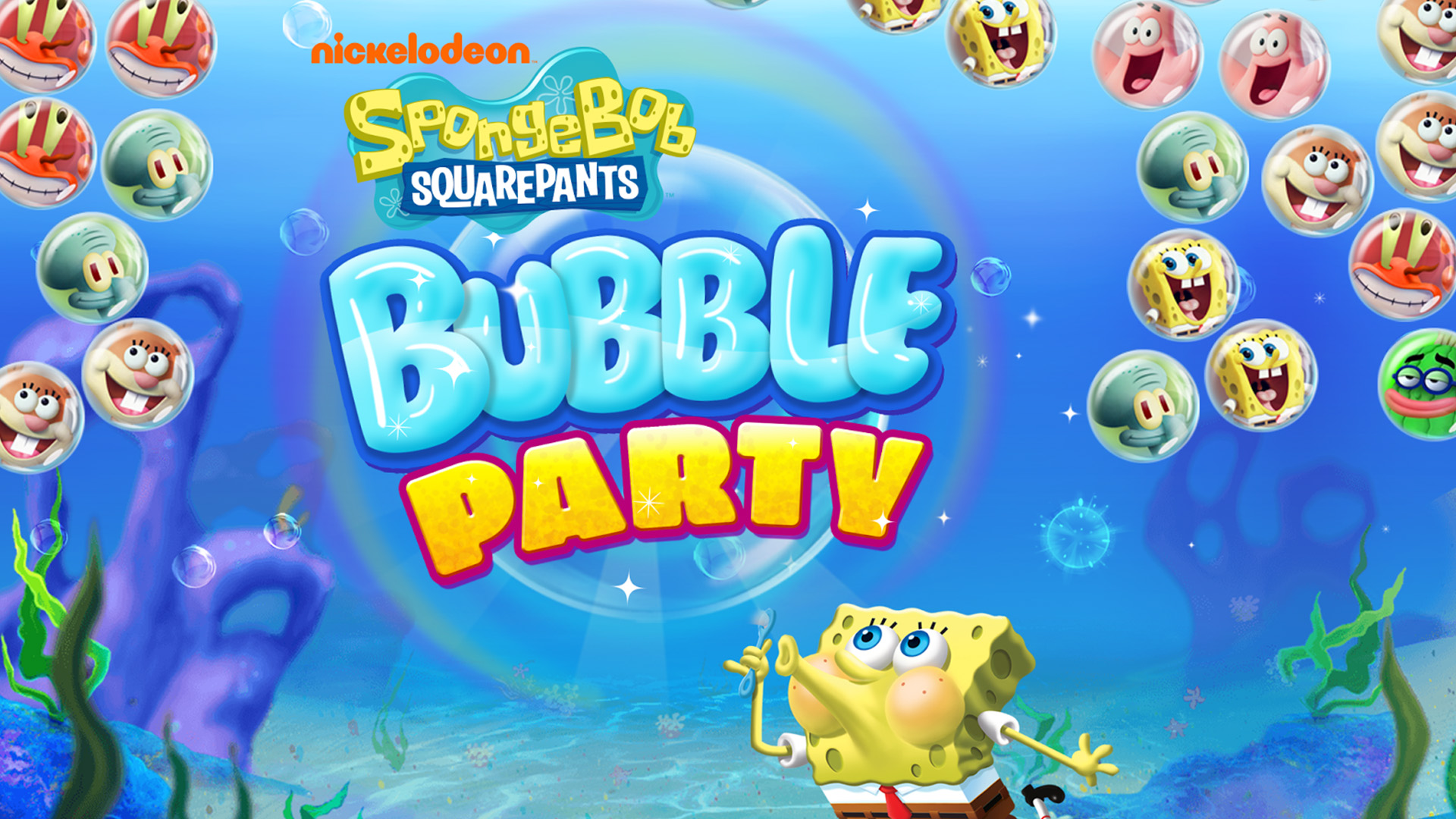 Spongebob Puzzle Party
