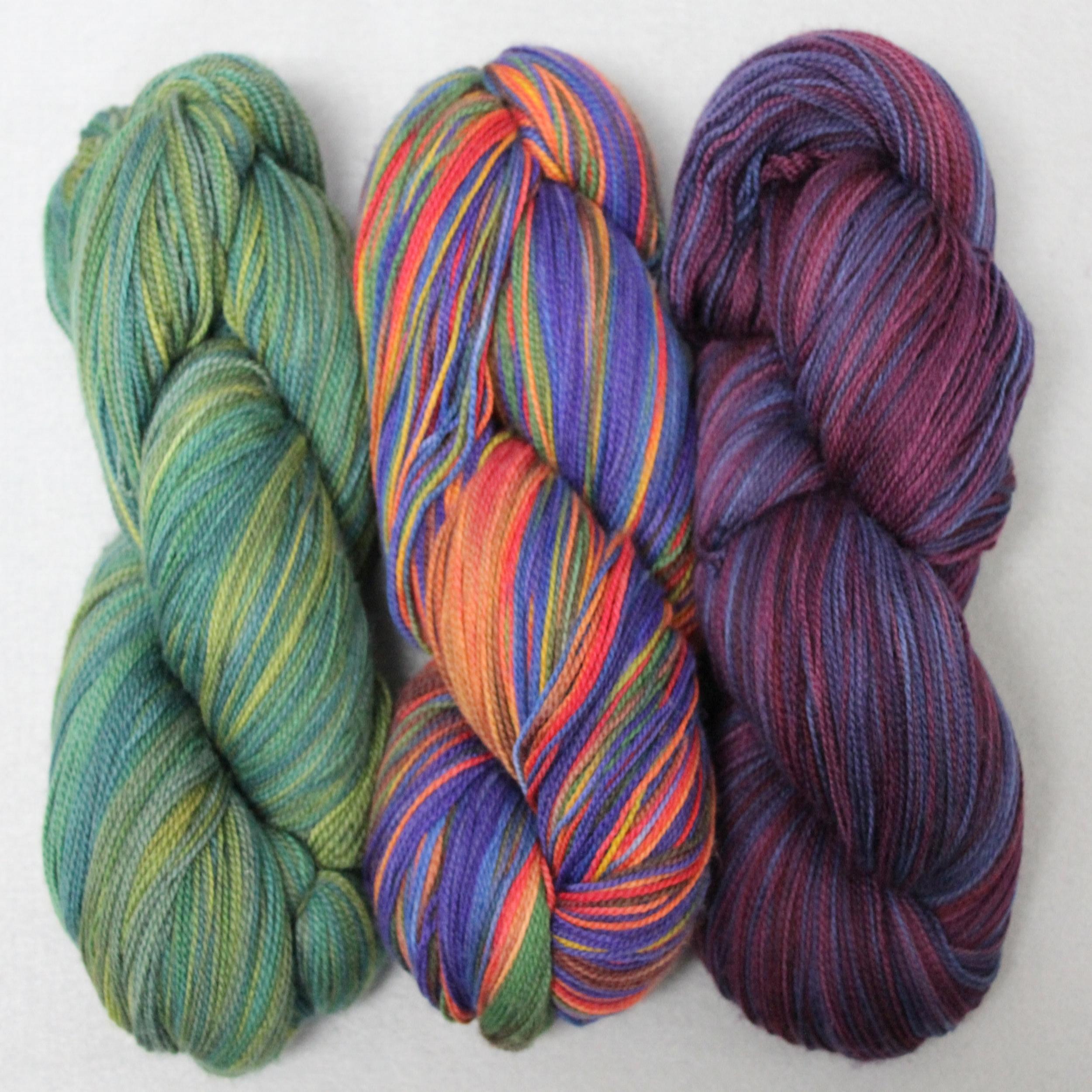 Browns Beige DK Design Ice 58423 Acrylic Wool Self-Patterning Yarn 100gr 284yds