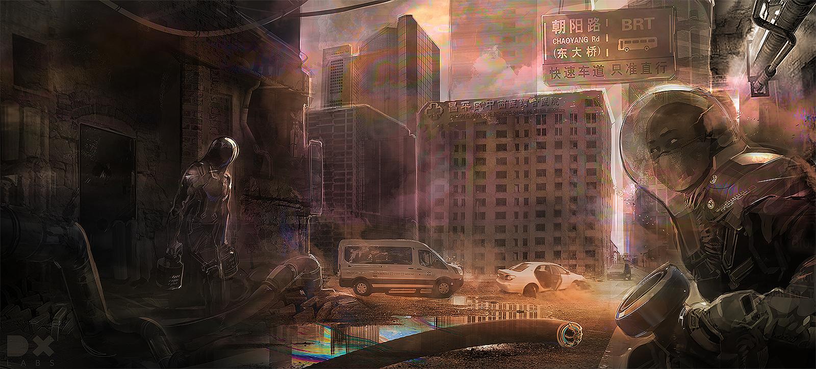 Concept Design by  Matt Bell © DXLab