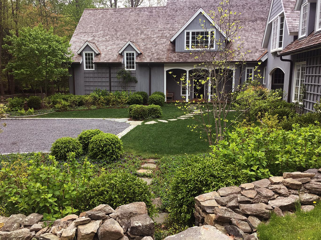Saint-Amand Landscape Design LLC-front court4.jpg