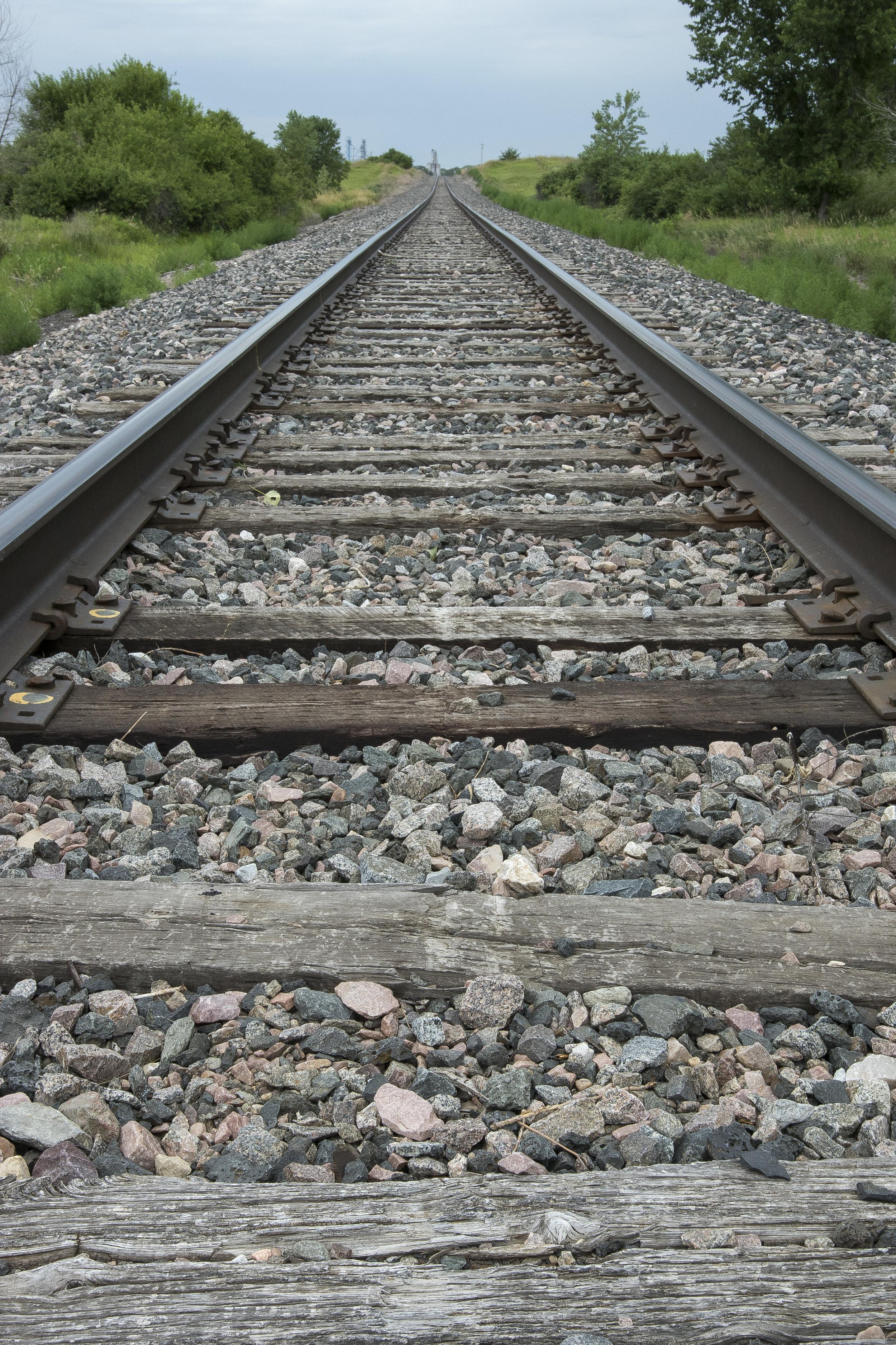 - The railway running between Seward and Staplehurst, Nebraska on July 7, 2017.