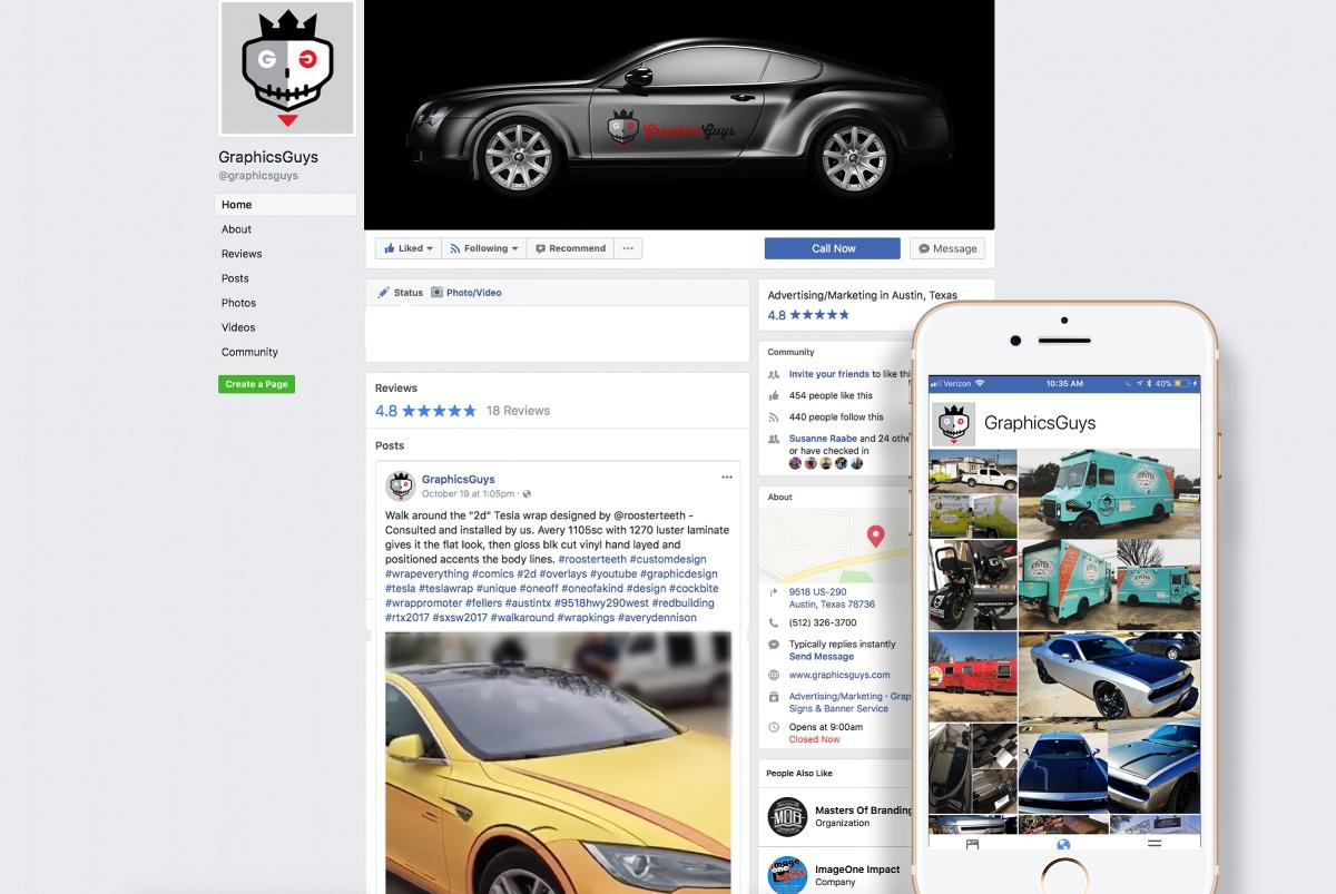 GraphicsGuys Facebook BrandIgnite