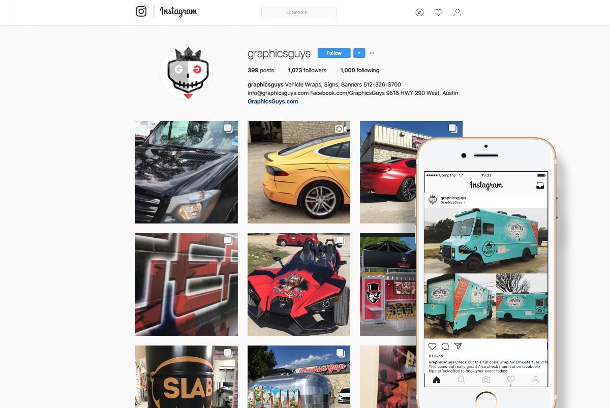 GraphicsGuys Instagram BrandCoup
