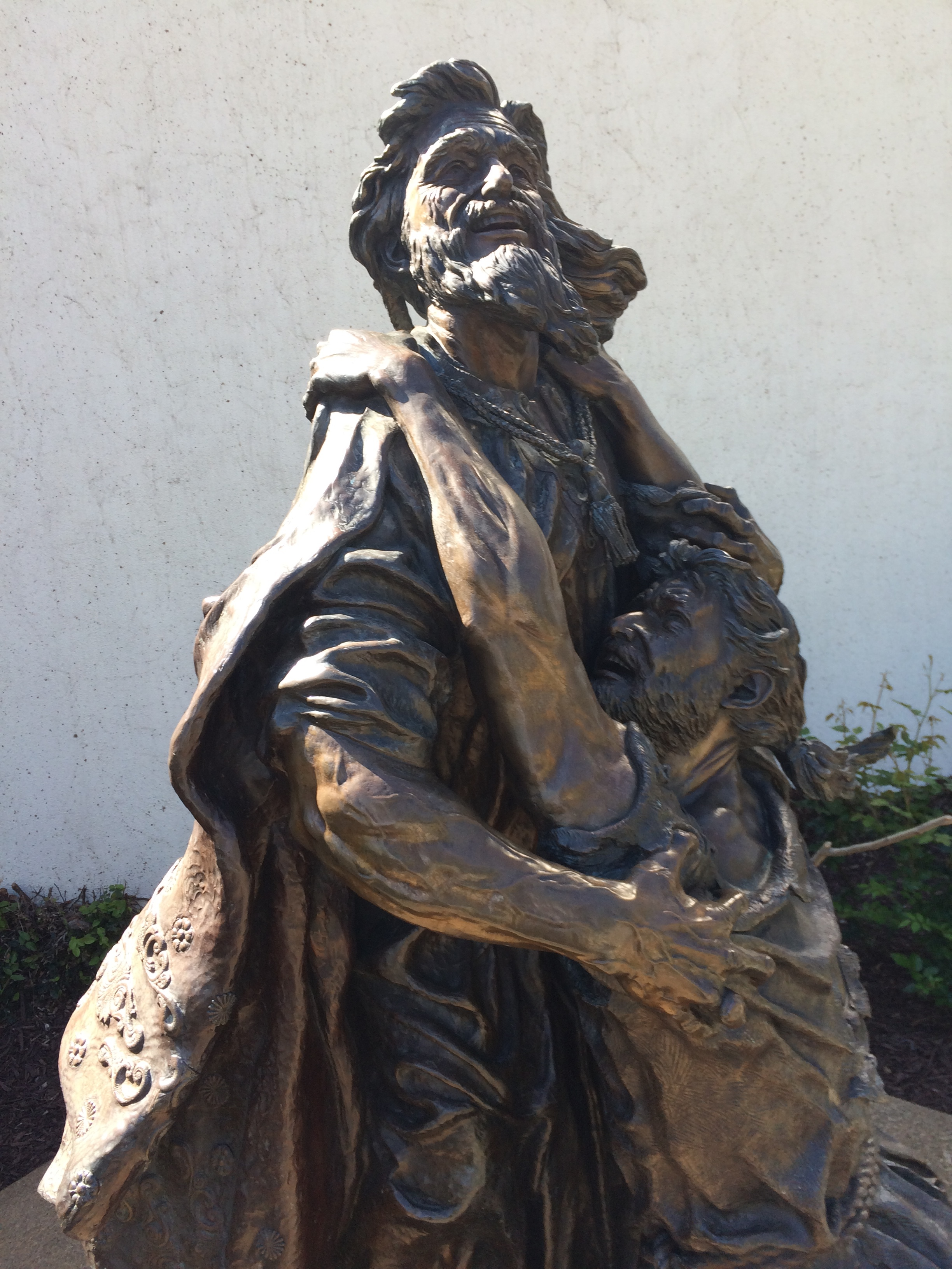 Statue of the Prodigal Son, Christ Cathedral, Garden Grove California. Site of Accountability Brothers' origin.