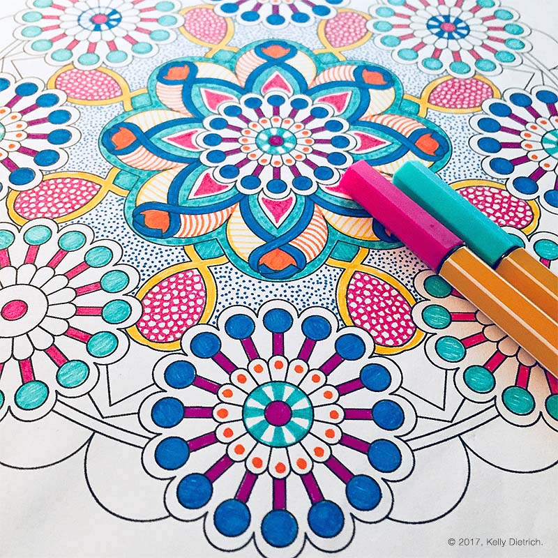 Look for a new addition to my Coloring Mandalas  book series on Amazon  soon!