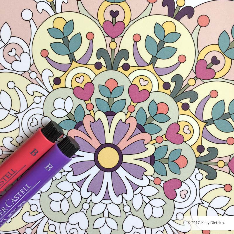Coloring Mandalas, Volume 2 Cover