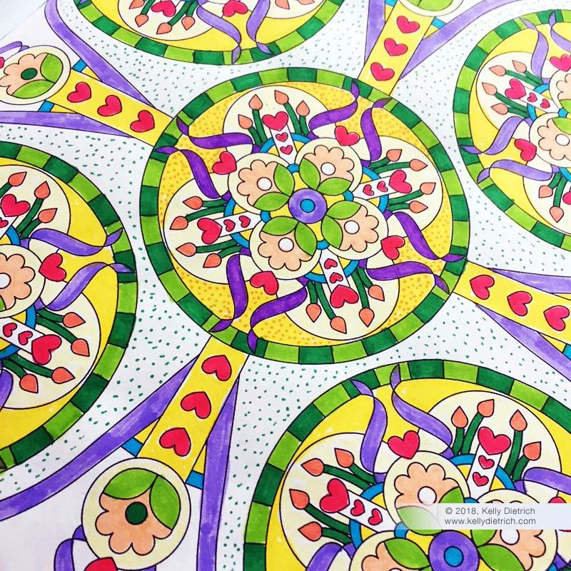 Coloring Mandalas Volume 2