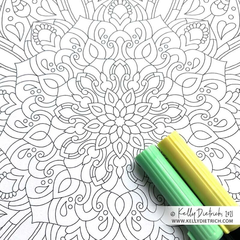 Downloads — Kelly Dietrich Mandala Art Blog — Kelly Dietrich Mandala Art