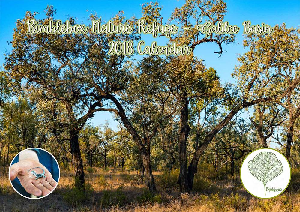 Bimblebox Nature Refuge 2018 calendar