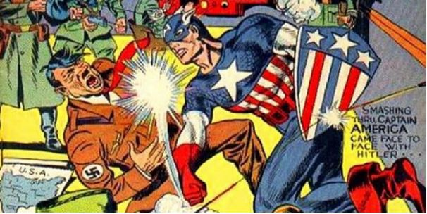 Captain America's first appearance in 1941 predated the USA's involvement in World War Two.
