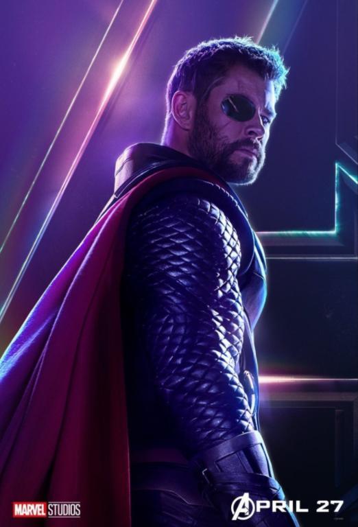 Thor - Played by Chris Hemsworth