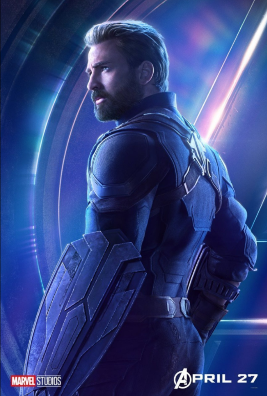 Captain America - Played by Chris Evans