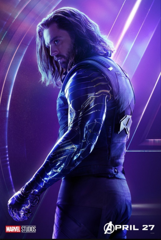 Winter Soldier - Played by Sebastian Stan