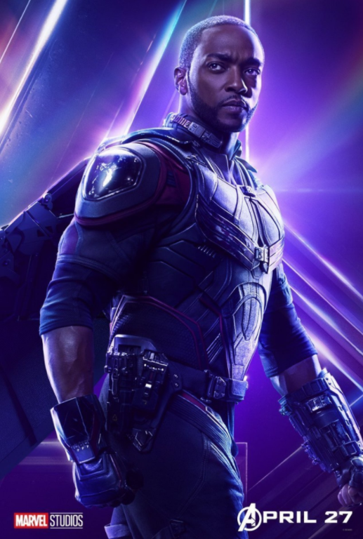 Falcon - Played by Anthony Mackie