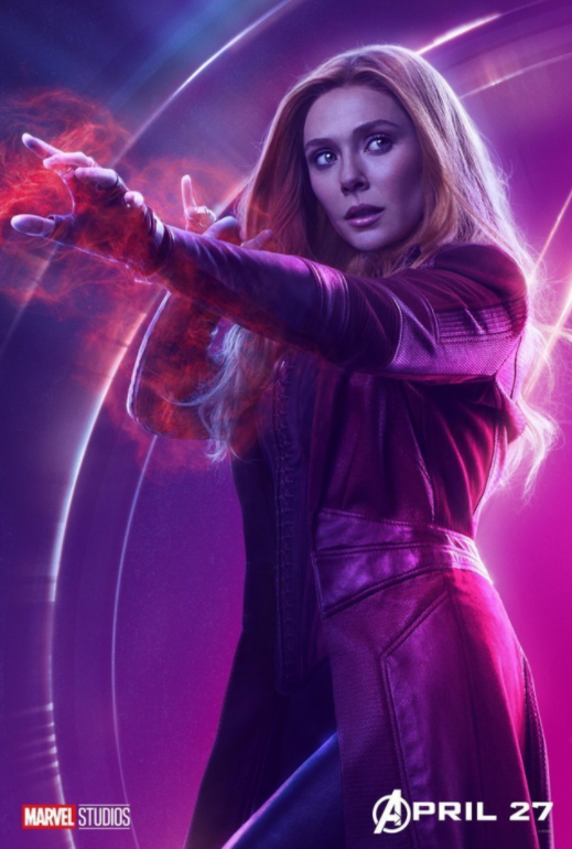 Scarlet Witch - Played by Elizabeth Olsen
