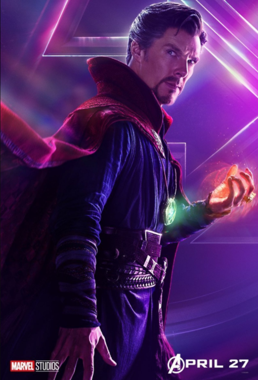The Sorcerer Supreme - Played by Benedict Cumberbatch