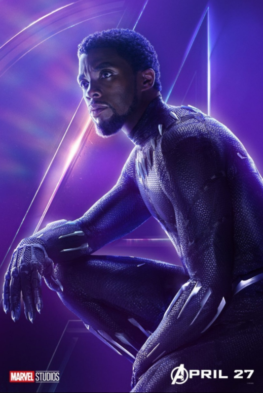 Black Panther - Played by Chadwick Boseman