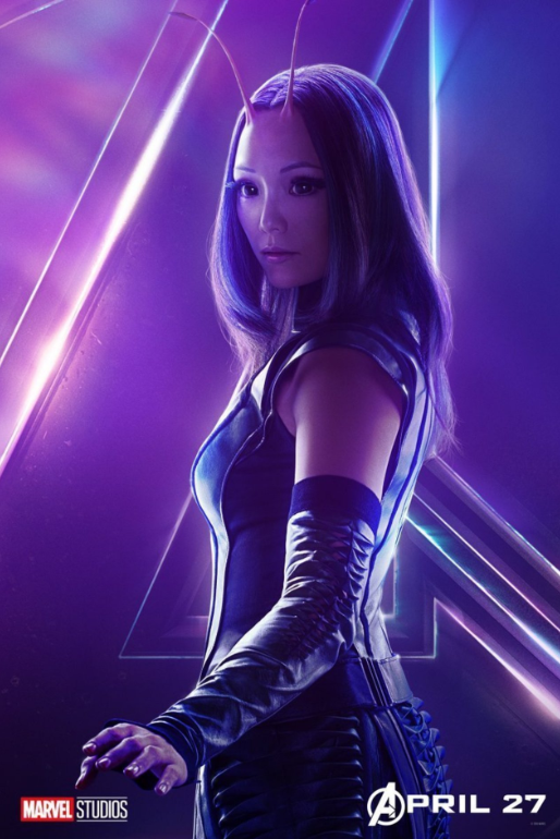 Mantis - Played by Pom Klementieff