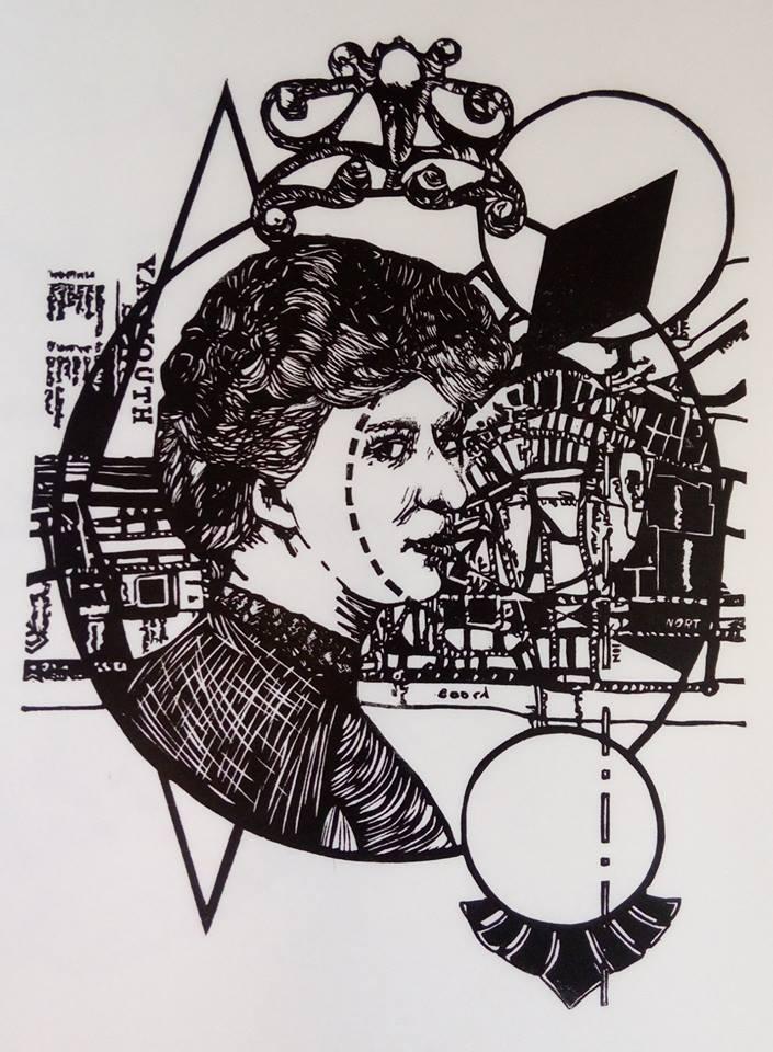 Mary Elizabeth Oliver - Portrait by Belinda McGrath