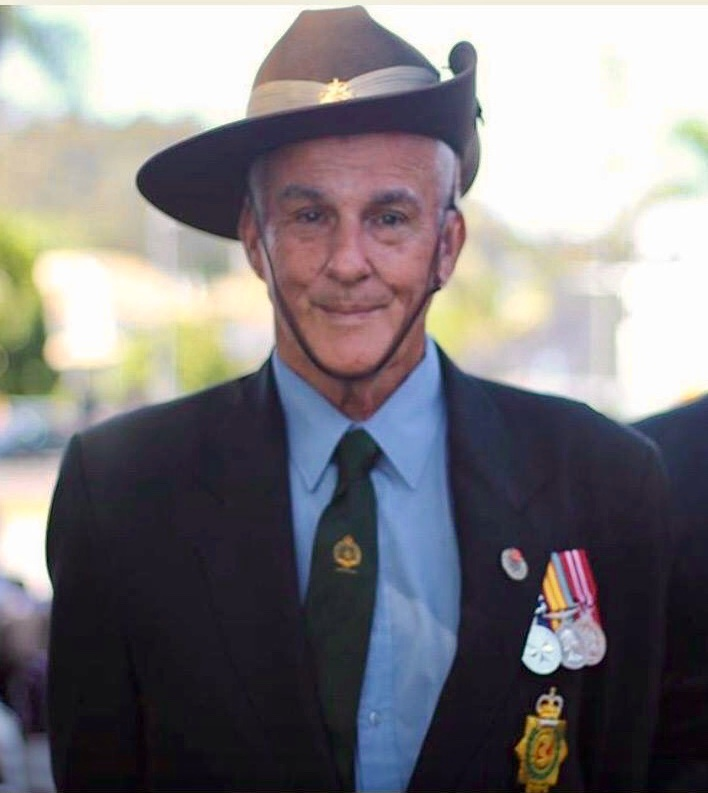 Anzac Day is an event of great significance for returned serviceman Allan Jackson.