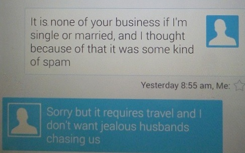 jealous husbands message