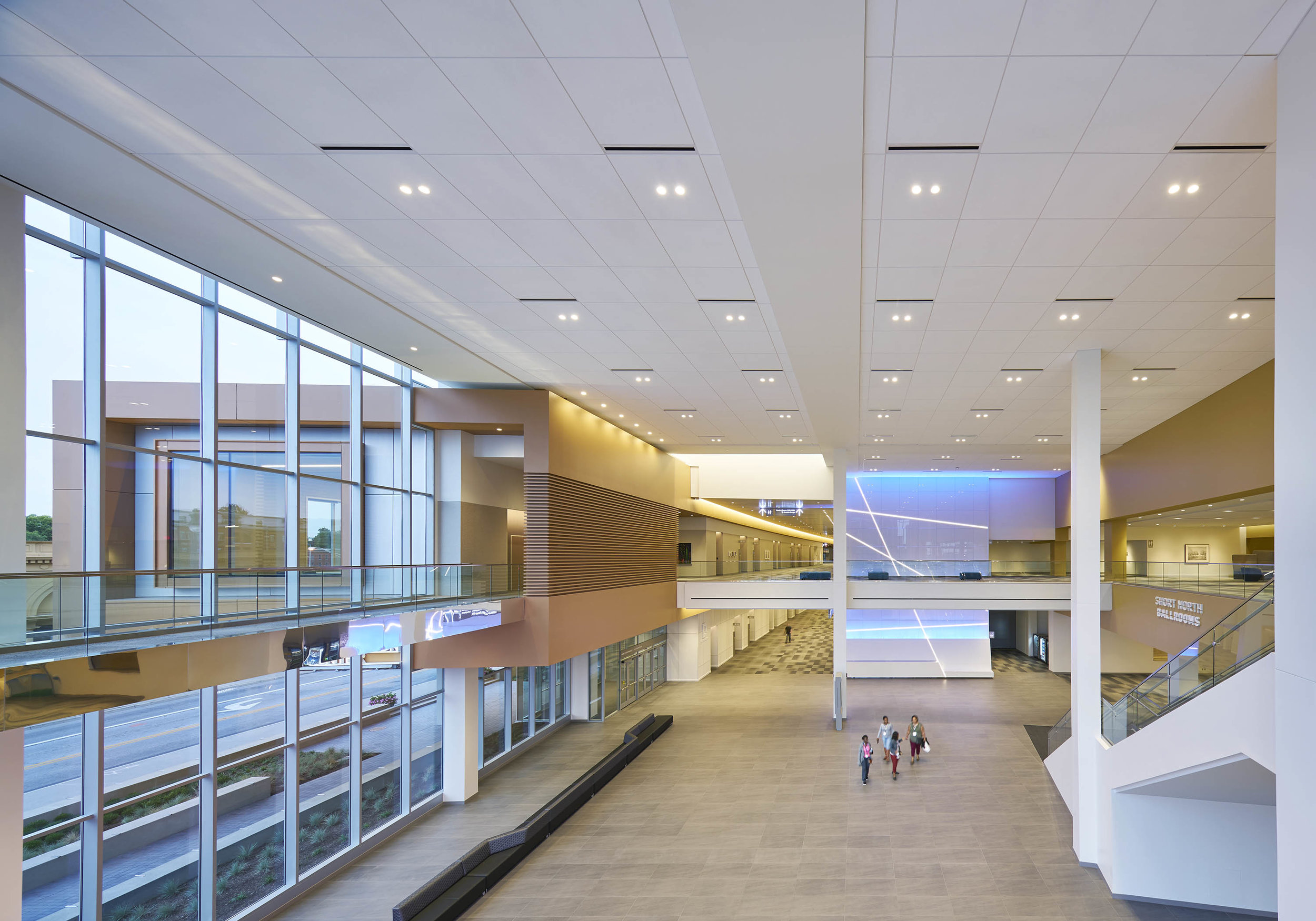 Architectural Support: Columbus Convention Center